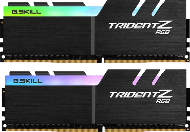 Оперативна пам'ять G.Skill DDR4-3600 16384MB PC4-28800 (Kit of 2x8192) Trident Z RGB (F4-3600C18D-16GTZR) - зображення 1