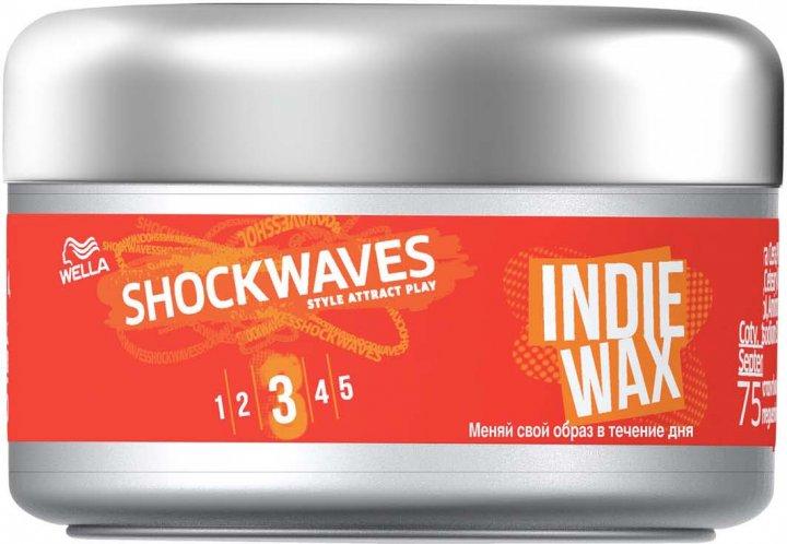 Віск для укладання волосся Wella Shockwaves Indie Wax 75 мл (3614226254368) - зображення 1