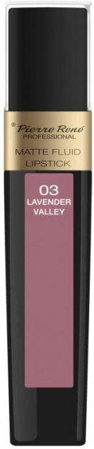 Помада Pierre Rene жидкая Matte Fluid 03 Lavender Valley 6 мл (3700467827864) - изображение 1