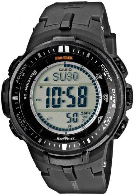 Чоловічі годинники CASIO PRW-3000-1ER - зображення 1