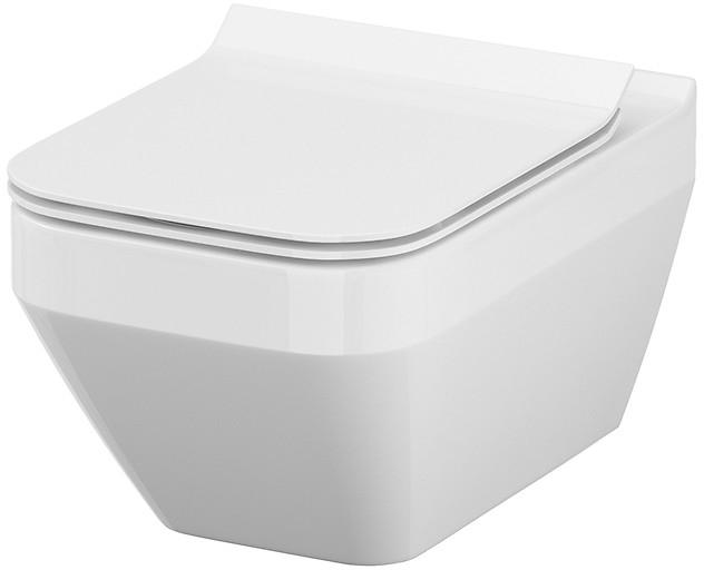 Унітаз підвісний CERSANIT Crea Clean On прямокутний без сидіння - зображення 1