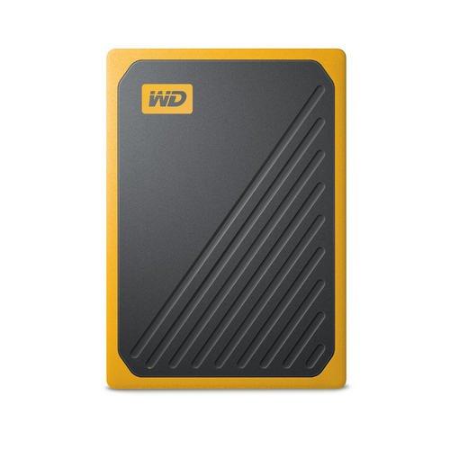 Накопичувач зовнішній SSD USB 500GB WD My Passport Go Amber (WDBMCG5000AYT-WESN) - зображення 1