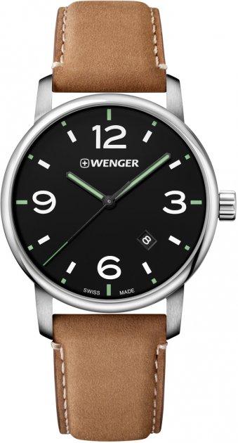 Чоловічий годинник Wenger W01.1741.117 - зображення 1