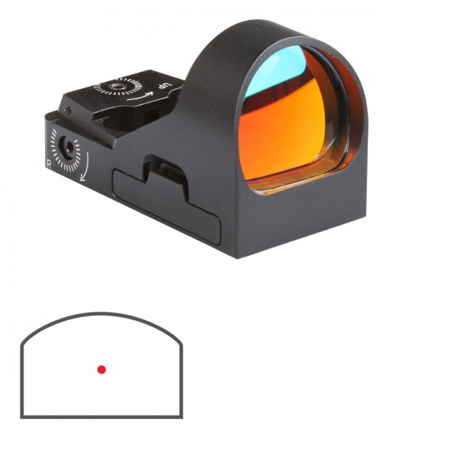 Приціл коліматорний Delta DO MiniDot HD 26x21 mm - зображення 1