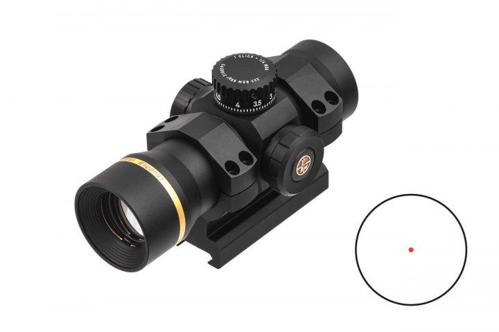 Прицел коллиматорный LEUPOLD Freedom RDS 1x34 (34mm) Red Dot 223 BDC 1.0 MOA Dot с креплением - изображение 1