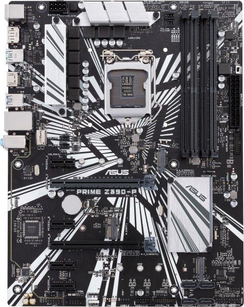 Материнская плата Asus Prime Z390-P (s1151, Intel Z390, PCI-Ex16) - изображение 1
