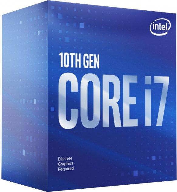 Процесор Intel Core i7-10700F 2.9 GHz / 16 MB (BX8070110700F) s1200 BOX - зображення 1