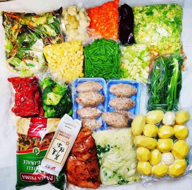 """Продуктовий набір """"Сімейний"""" - тижневий запас овочів та м'яса для родини - изображение 1"""