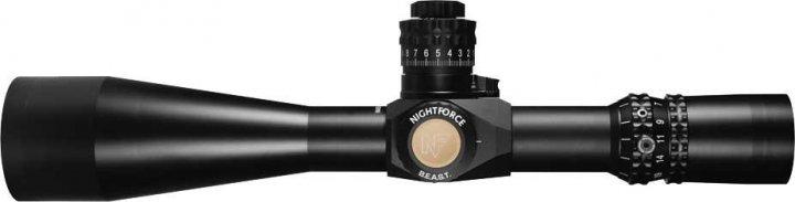 Приціл Nightforce B. E. A. S. T. 5-25x56 F1 ZeroS 0,250 МОА сітка MOAR з підсвічуванням - зображення 1