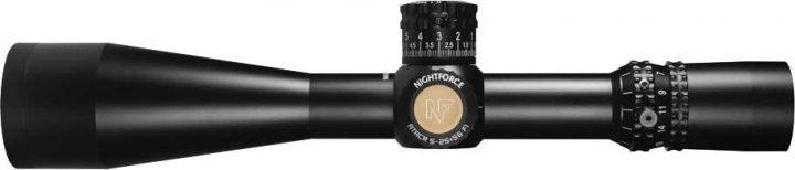Приціл Nightforce ATACR 5-25x56 F1 ZeroS 0.250 MOA сітка MOAR з підсвічуванням - зображення 1