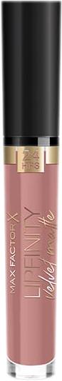 Помада жидкая матовая Max Factor Lipfinity Velvet Matte № 15 Nude Silk 3.5 мл (8005610629612) - изображение 1