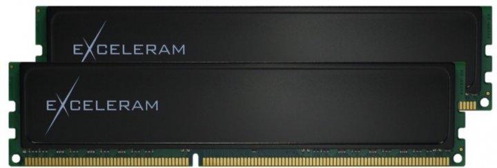 Оперативна пам'ять Exceleram DDR3-1600 8192MB PC3-12800 (Kit of 2x4096) Black Sark (E30173A) - зображення 1