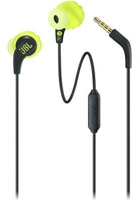 Навушники JBL Endurance Run Black/Yellow (JBLENDURRUNBNL) - зображення 1