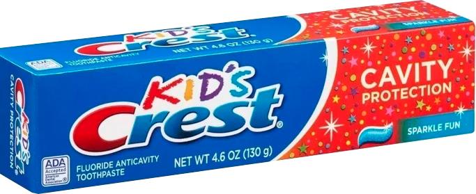 Детская зубная паста Crest Kid's Cavity Protection Sparkle Fun 130 г (37000003823) - изображение 1