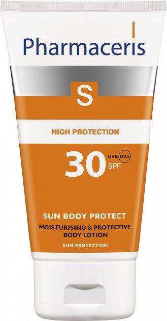 Увлажняющая солнцезащитная эмульсия для тела Pharmaceris S Sun Body Protective Sun Lotion for the Body SPF 30 150 мл (5900717149212) - изображение 1