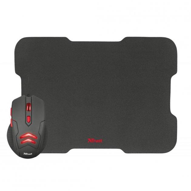 Мишка Trust Ziva Gaming mouse with Mouse pad (21963) - зображення 1
