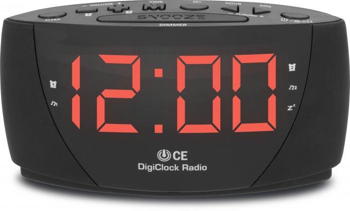 Радіогодинник TechniSat DigiClock Radio з будильником і зумером (76-4900-00) - зображення 1