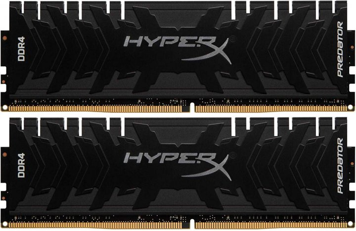Оперативная память HyperX DDR4-3333 32768MB PC4-26660 (Kit of 2x16384) Predator (HX433C16PB3K2/32) - изображение 1