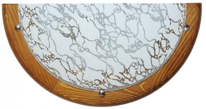Світильник настінний Декора Модерн 27191 білий/дуб (DE-45846) - зображення 1