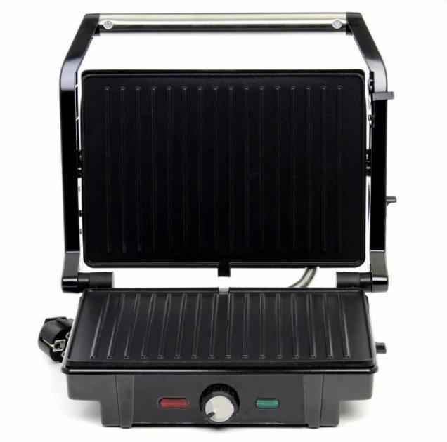 Гриль прижимний c терморегулятором Rainberg RB-5403 2500W - зображення 1