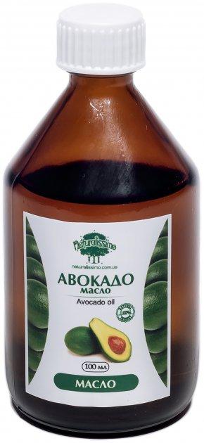 Олія авокадо Naturalissimo для тіла, масажна 100 мл (2000000015866) - зображення 1