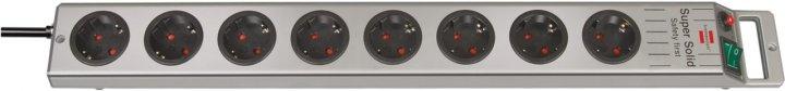 Удлинитель Brennenstuhl Super-Solid-Line 8 розеток 2.5 м (1153340118) - изображение 1