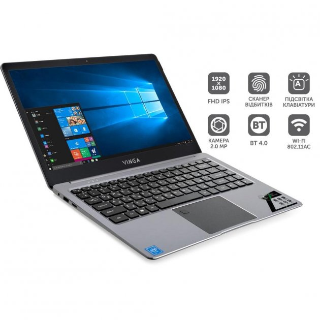 Ноутбук Vinga Iron S140 (S140-P50464GWP) - зображення 1