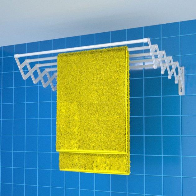 Сушка для білизни настінна Rokar Мілтон 5 трубок 60 см (M5-60) - зображення 1