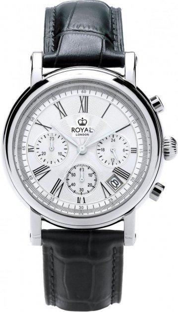 Чоловічі годинники Royal London 41193-01 - зображення 1