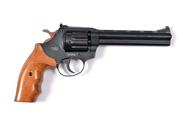 Револьвер под патрон Флобера ЛАТЭК Safari РФ 461 М бук. - изображение 1