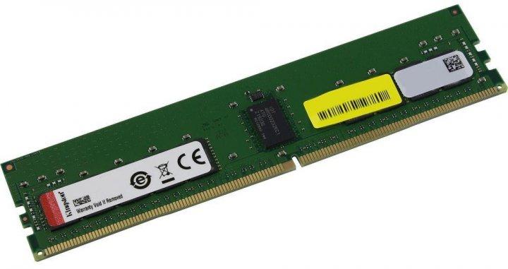 Оперативна пам'ять Kingston DDR4-3200 8192 MB PC4-25600 ECC Registered (KSM32RS8/8HDR) - зображення 1