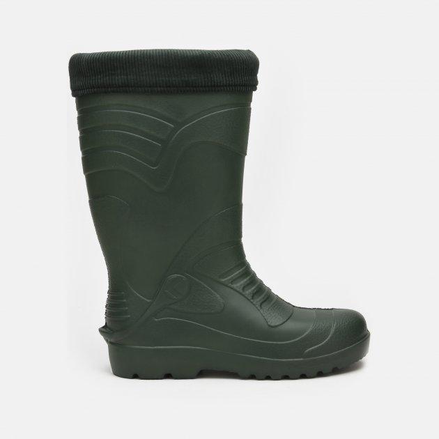 Резиновые сапоги Kolmax Long 064 42 (28.5 см) Темно-зеленые - изображение 1