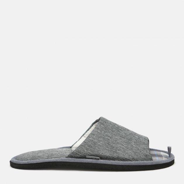 Комнатные тапочки FX shoes 18034 40/41 Серые (2820000003102) - изображение 1