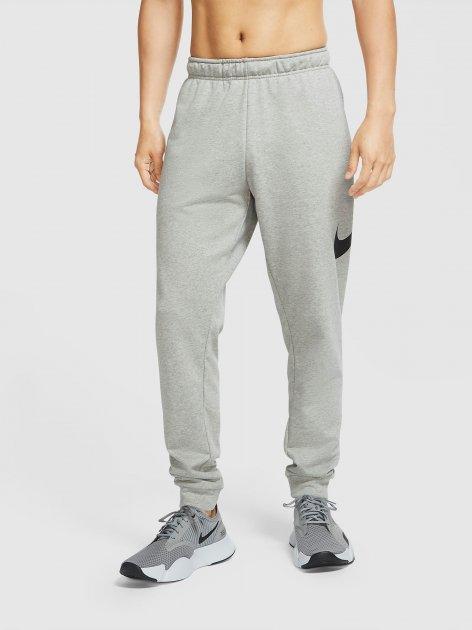 Спортивні штани Nike M Nk Df Pnt Taper Fa Swsh CU6775-063 L (194277155379) - зображення 1