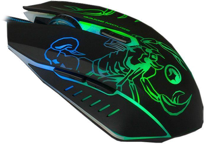 Комп'ютерна миша Marvo M316 Black - зображення 1