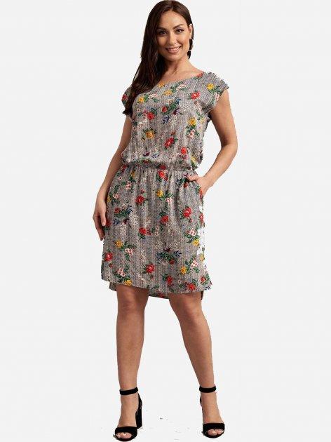 Платье Le Bourdon 110FM/VIS-35 52UA Серое (NB2000001104866) - изображение 1