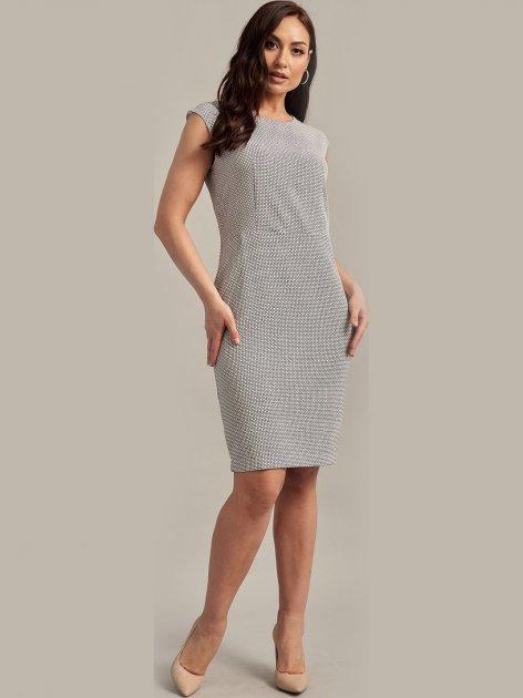 Платье Le Bourdon 104FM/KR-115 46UA Серое (NB2000001104644) - изображение 1