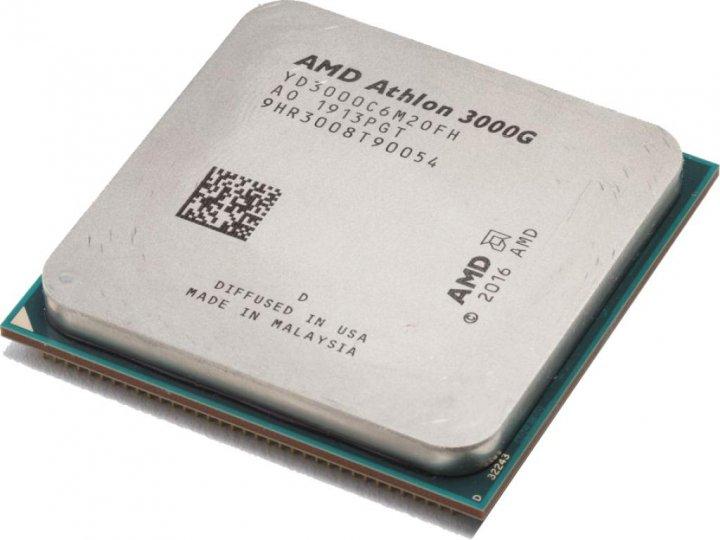 Процесор AMD Athlon 3000G 3.5 GHz / 4 MB (YD3000C6M2OFH) AM4 OEM - зображення 1