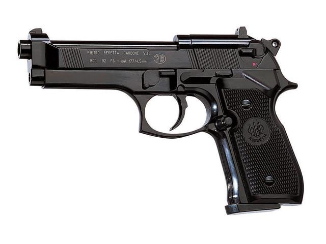 Пневматический пистолет Umarex BERETTA 92 FS - изображение 1