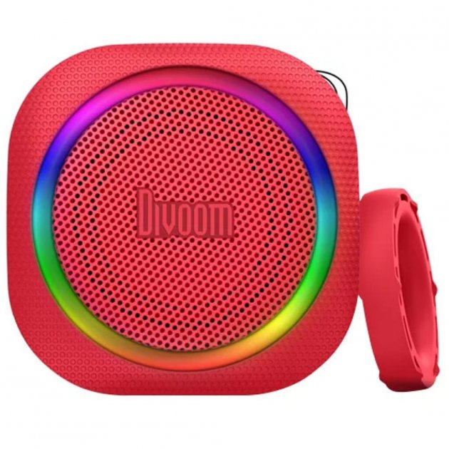 Акустична система Divoom Airbeat 30 Red (2000984842243) - зображення 1