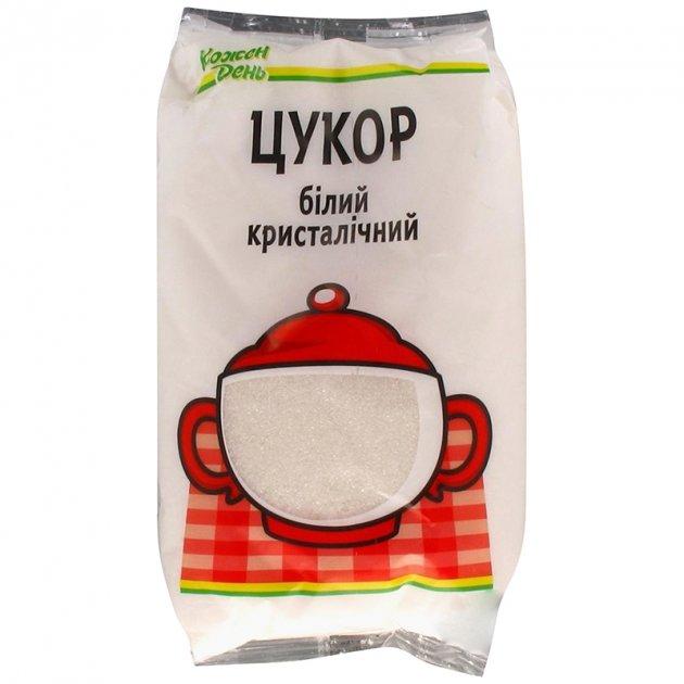 Сахар фасованный Кожен День, 1 кг - изображение 1