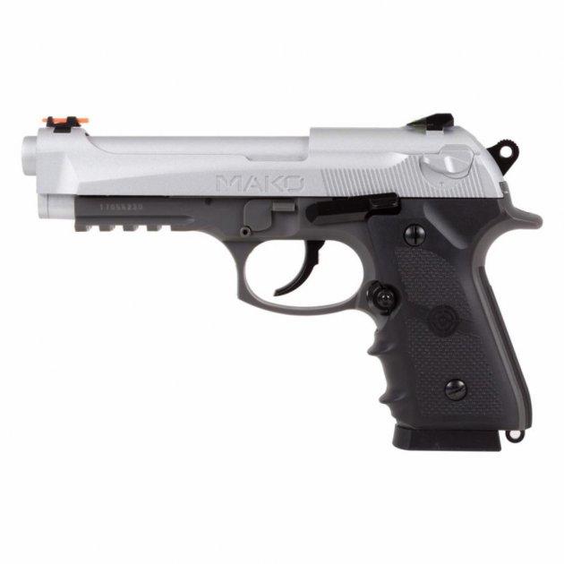 Пневматичний пістолет Crosman Mako CO2, 4.5 мм (CM9B) - зображення 1