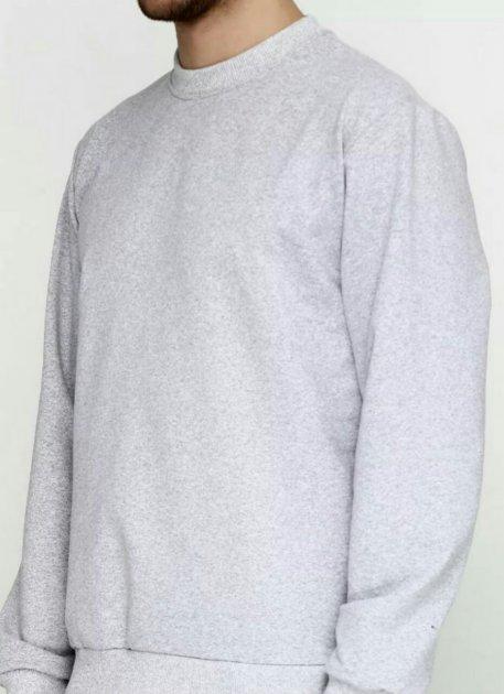 Світшот Solo спортивний XXL Світло сірий Mn620 - зображення 1