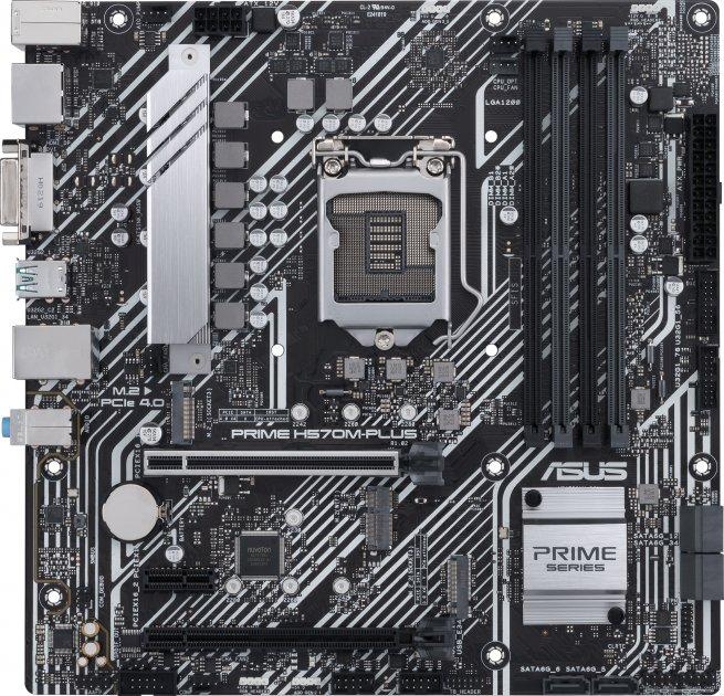 Материнська плата Asus Prime H570M-Plus (s1200, Intel H570, PCI-Ex16) - зображення 1