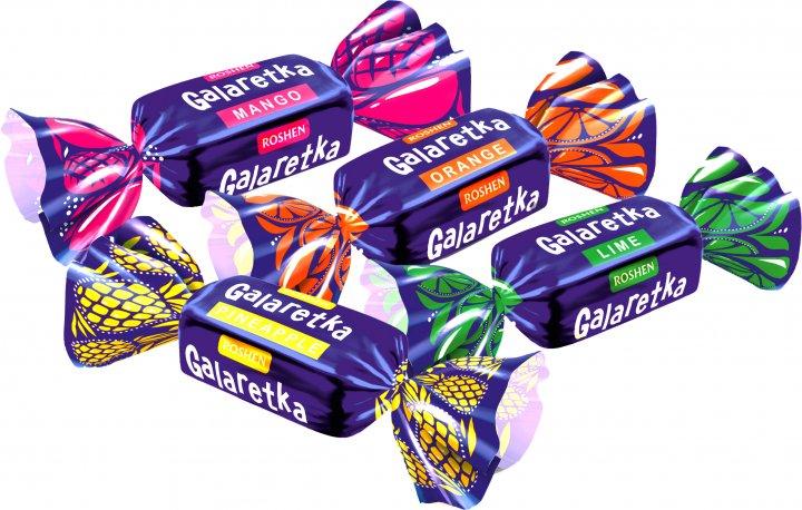 Конфеты Roshen Galaretka 1 кг (4823077625497) - изображение 1