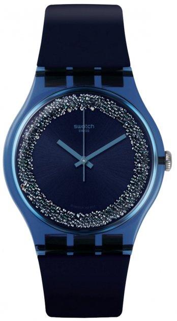 Женские часы SWATCH BLUSPARKLES SUON134 - изображение 1