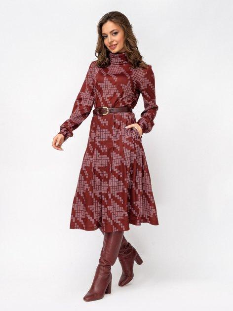 Платье Dressa 52931 44 Бордовое (2000405710953) - изображение 1