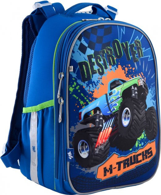 Рюкзак школьный YES H-25 мужской 0.85 кг 28x37x16 см 15 л M-Trucks (556187) - изображение 1