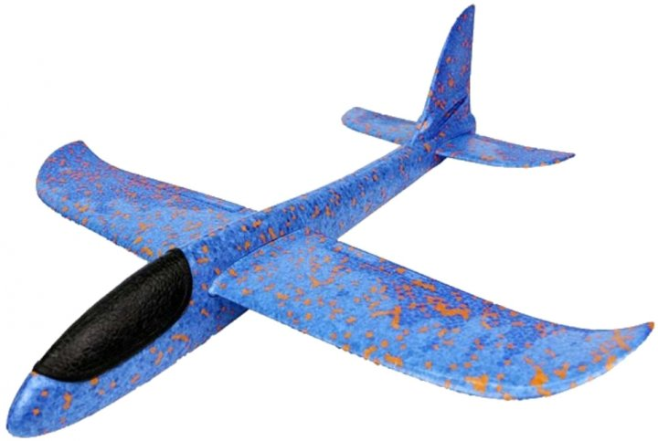 Метательный самолет Explosion Синий (56004) (9986506005729) - изображение 1