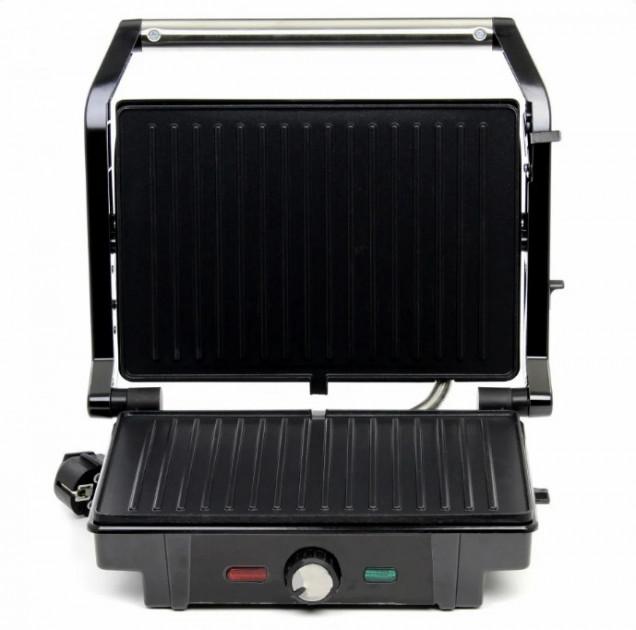 Гриль прижимной c терморегулятором Rainberg RB-5403 2500W - зображення 1